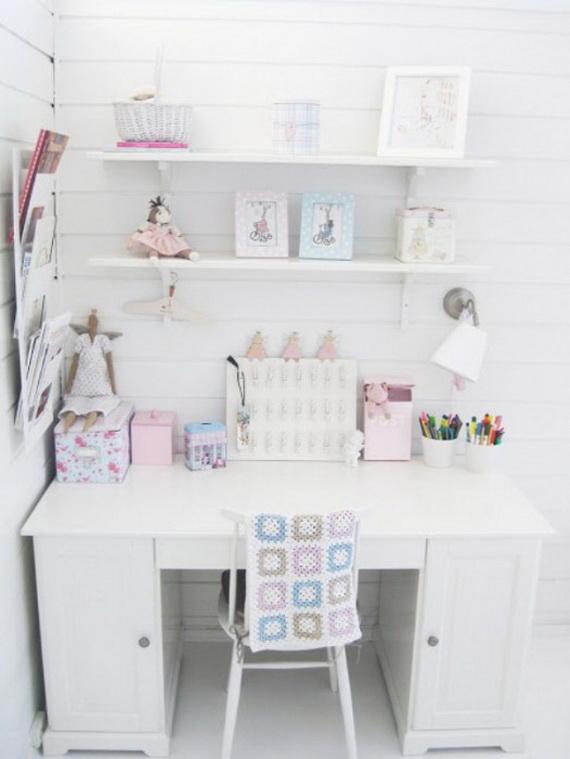 Inspirational Design Ideas for Kids Desks Spaces _35