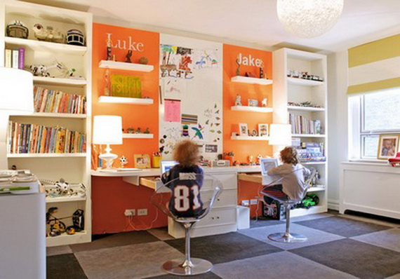 Inspirational Design Ideas for Kids Desks Spaces _4