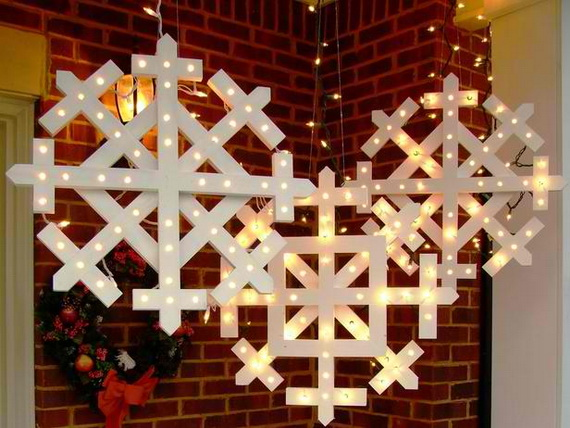 Jolly Ideas for Decorating with Christmas lights_51