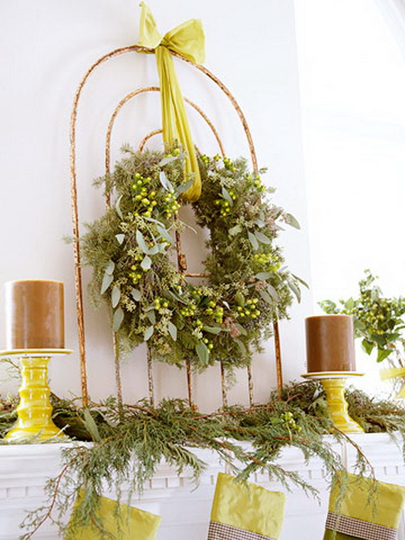 Magnificent Green And White Christmas Decorating Ideas _03