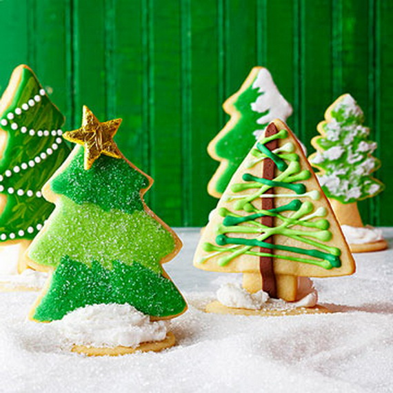Magnificent Green And White Christmas Decorating Ideas _13