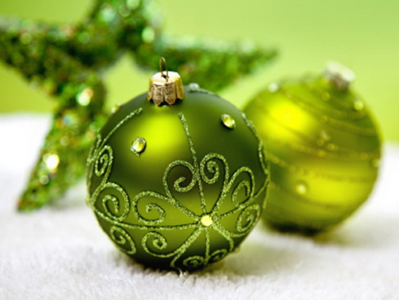 magnificent green and white christmas decorating ideas _16