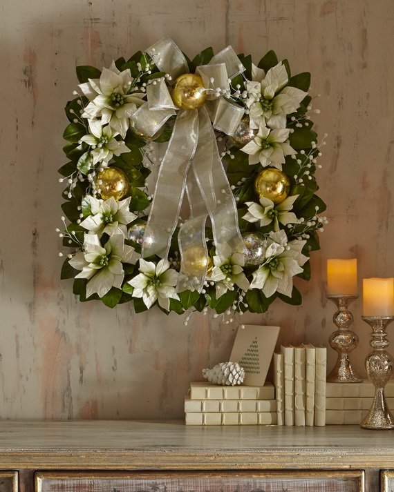 Magnificent Green And White Christmas Decorating Ideas _61
