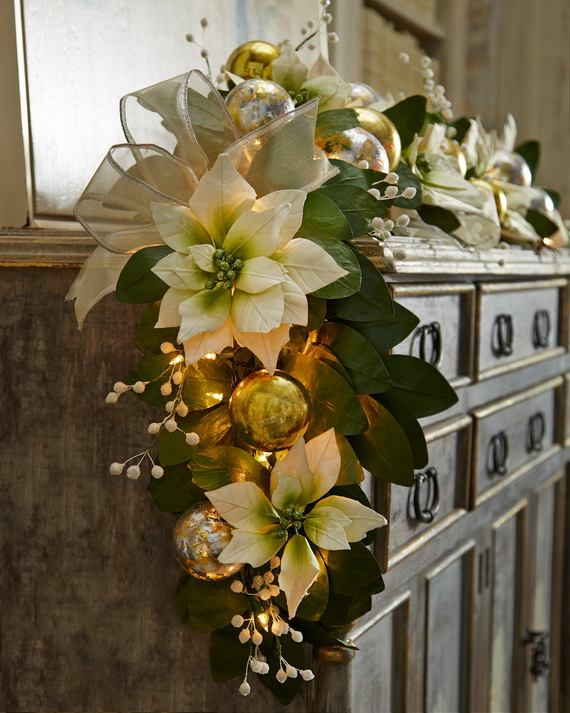 Magnificent Green And White Christmas Decorating Ideas _62