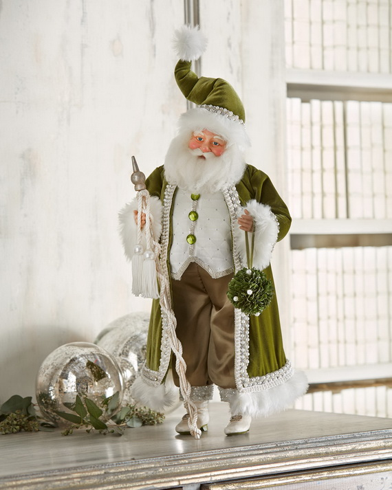 Magnificent Green And White Christmas Decorating Ideas _67