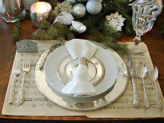 Magnificent Green And White Christmas Decorating Ideas _76