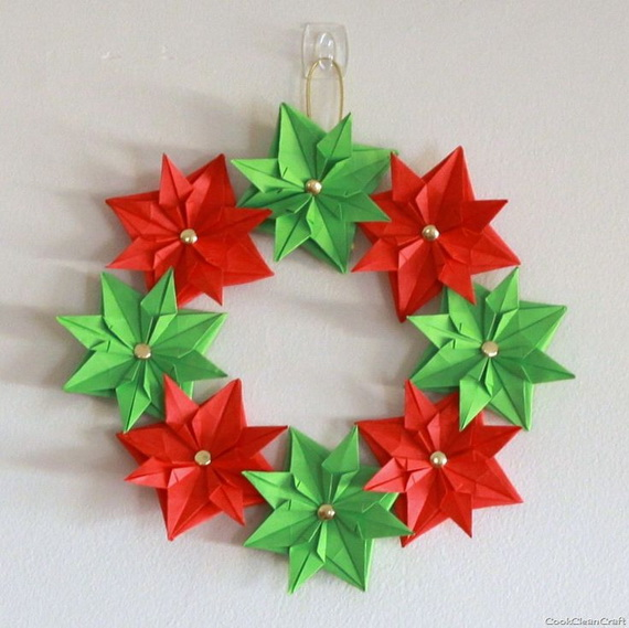pretty paper christmas craft decoration ideas_33 - Christmas Decoration Crafts