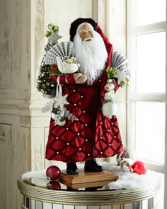 Share the joy of Christmas with Santa Claus decoration ideas _19 (2)