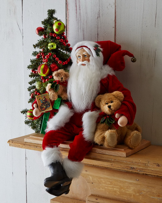 Share the joy of Christmas with Santa Claus decoration ideas _20 (2)