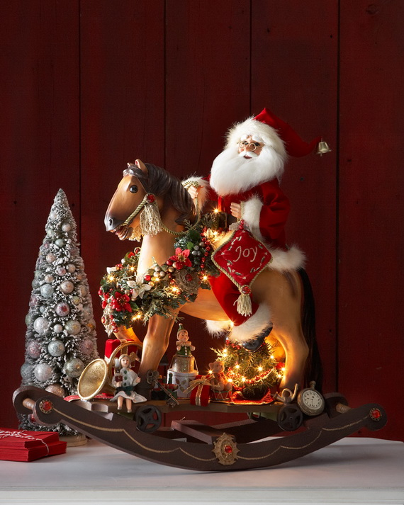 Share the joy of Christmas with Santa Claus decoration ideas _21 (2)