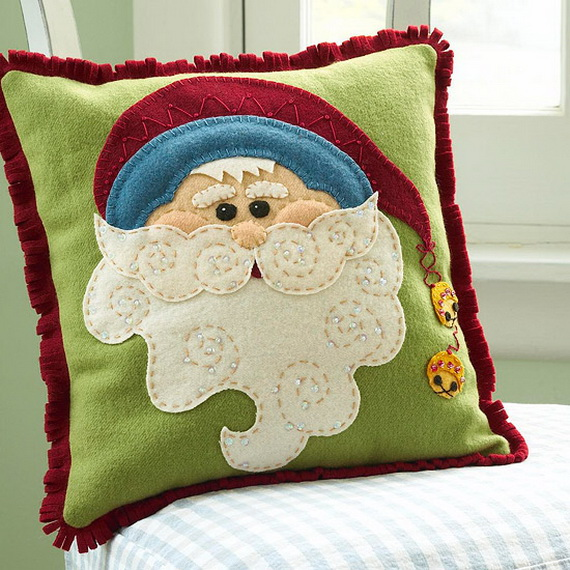Share the joy of Christmas with Santa Claus decoration ideas _32