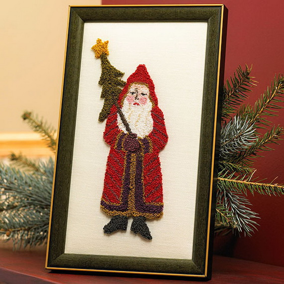 Share the joy of Christmas with Santa Claus decoration ideas _33