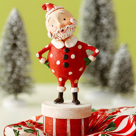 Share the joy of Christmas with Santa Claus decoration ideas _34