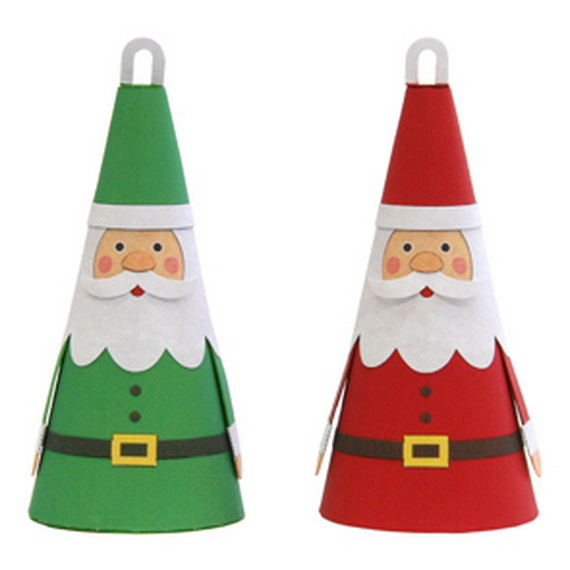 Share the joy of Christmas with Santa Claus decoration ideas _42