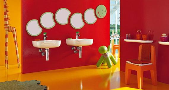 Stylish Bathroom Design Ideas for Kids 2014_24
