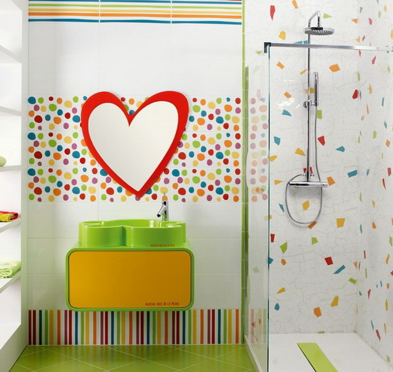 Stylish Bathroom Design Ideas for Kids 2014_29