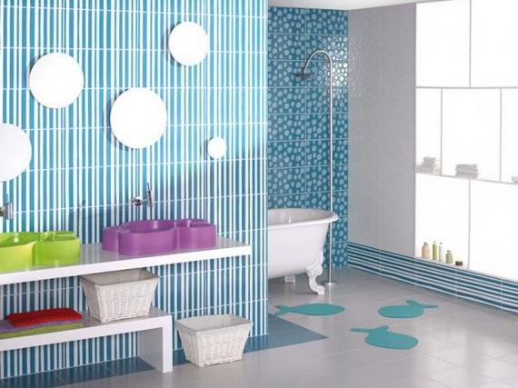 Stylish Bathroom Design Ideas for Kids 2014_30