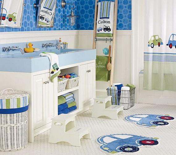 Stylish Bathroom Design Ideas for Kids 2014_42