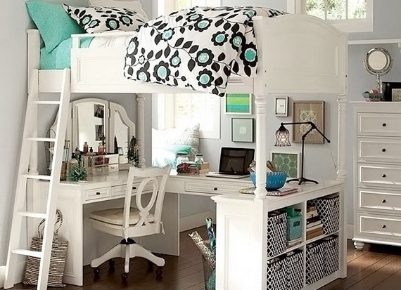 Stylish Teen Bedroom Design Ideas_021