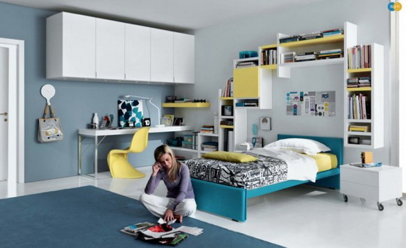 Stylish Teen Bedroom Design Ideas_029