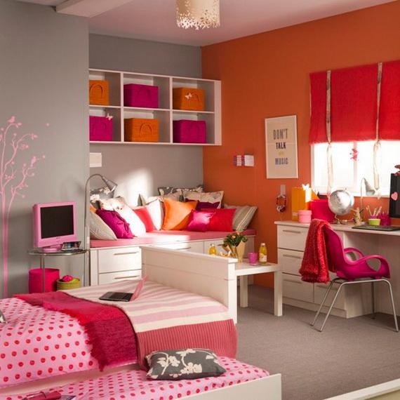 Stylish Teen Bedroom Design Ideas_041