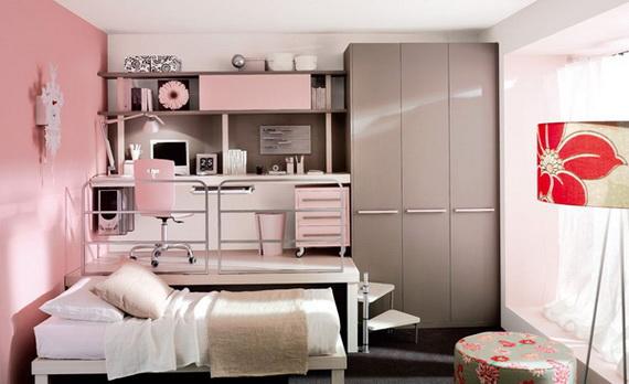Stylish Teen Bedroom Design Ideas_058
