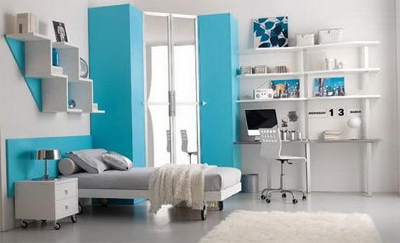 Stylish Teen Bedroom Design Ideas_111