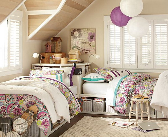 Stylish Teen Bedroom Design Ideas_129