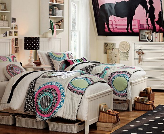 Stylish Teen Bedroom Design Ideas_141