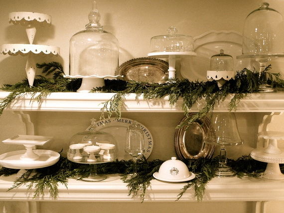 Christmas Decorating Ideas For The Kitchen Top Decor A Cozy Family