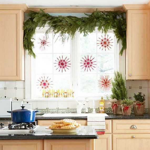 Top Christmas Decor Ideas For A Cozy Kitchen _13
