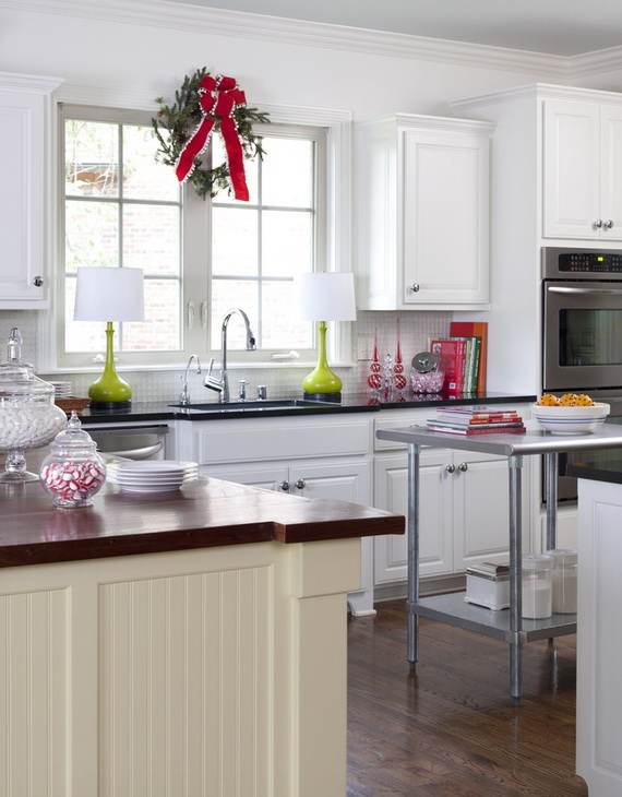 Top Christmas Decor Ideas For A Cozy Kitchen _17