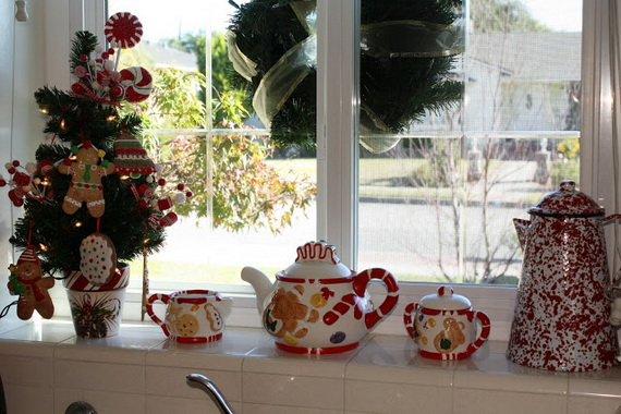 Top Christmas Decor Ideas For A Cozy Kitchen _31