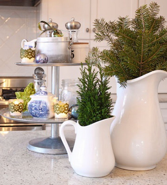 Superb Top Christmas Decor Ideas For A Cozy Kitchen _32