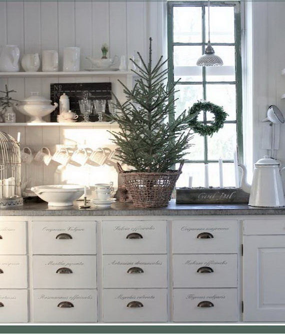 Top Christmas Decor Ideas For A Cozy Kitchen _36