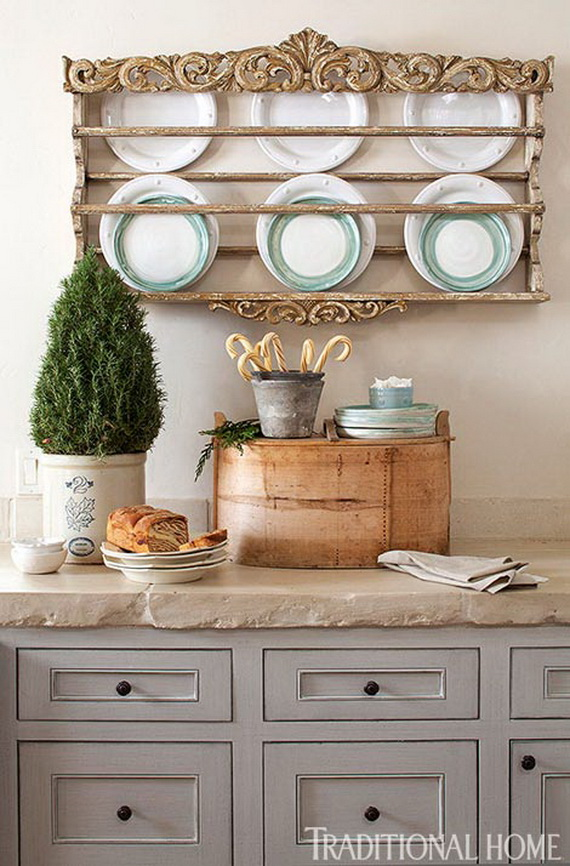 Top Christmas Decor Ideas For A Cozy Kitchen _41