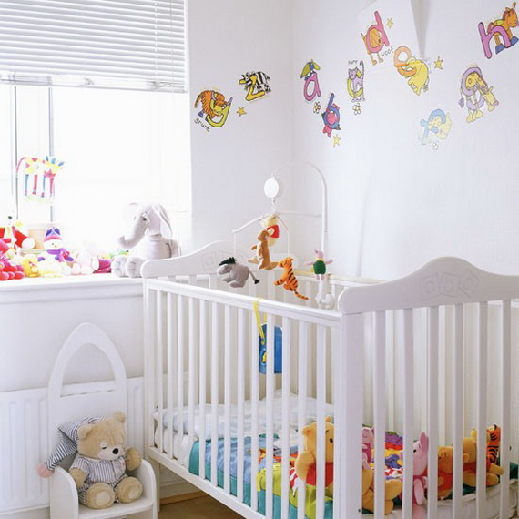 Top Nursery Decorating Theme Ideas and Designs _03