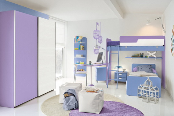 Vibrant and Lively Twin- Kids Bedroom Designs_06