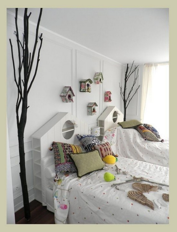 Vibrant and Lively Twin- Kids Bedroom Designs_30