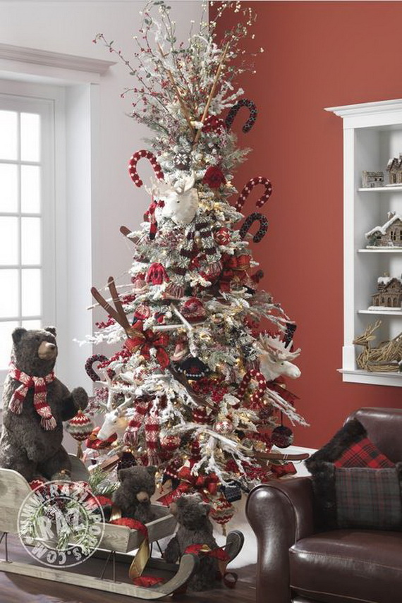 2014 RAZ Aspen Sweater Christmas Decorating Ideas_009