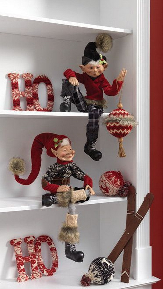 2014 RAZ Aspen Sweater Christmas Decorating Ideas_011
