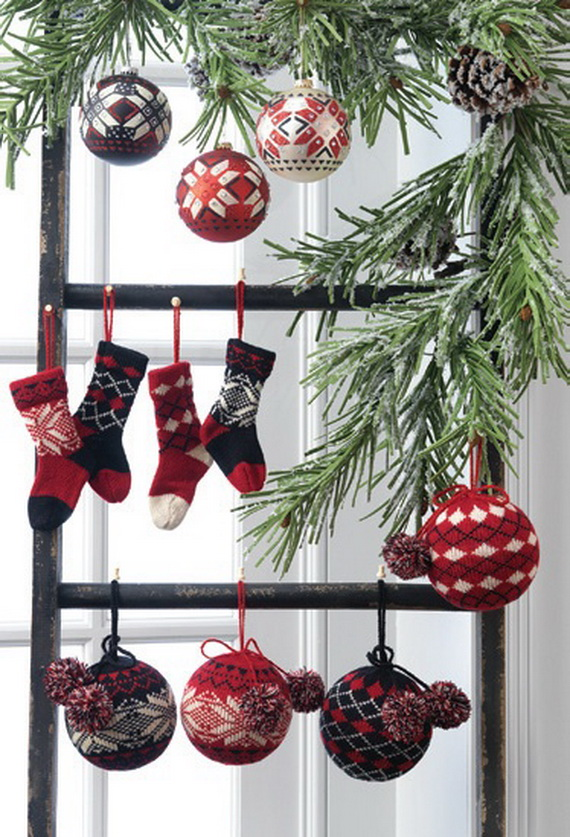 2014 RAZ Aspen Sweater Christmas Decorating Ideas_016
