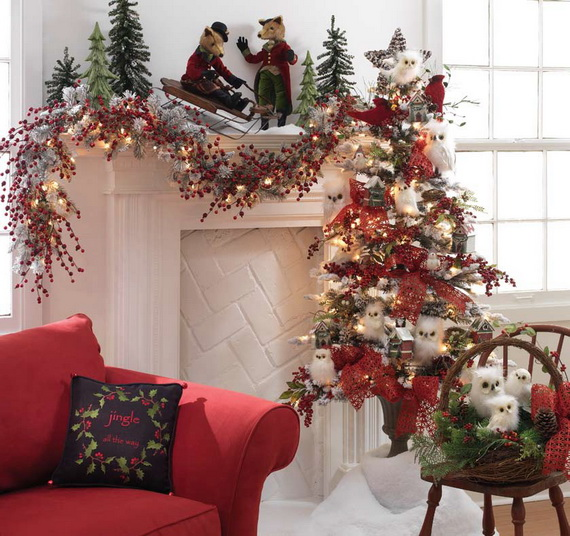 2014 RAZ Aspen Sweater Christmas Decorating Ideas_030