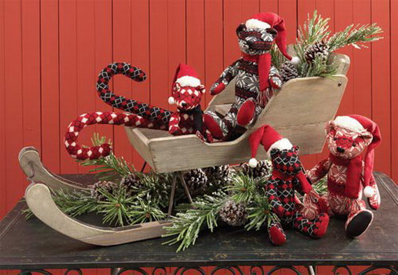 2014 RAZ Aspen Sweater Christmas Decorating Ideas_033