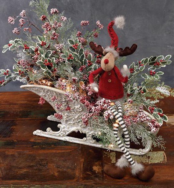 2014 RAZ Aspen Sweater Christmas Decorating Ideas_034