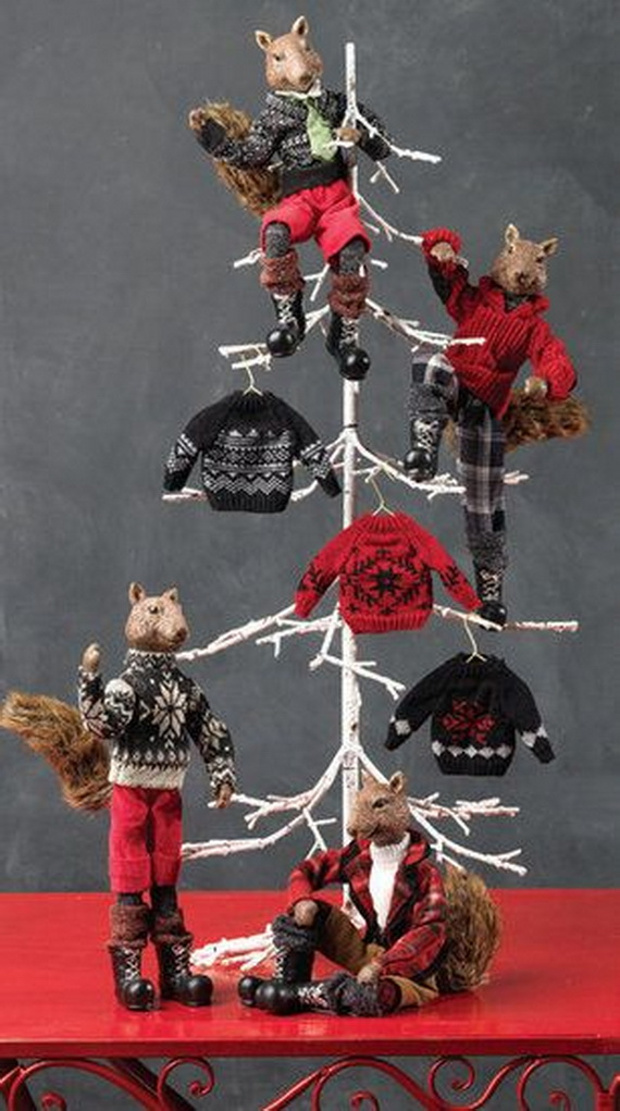 2014 RAZ Aspen Sweater Christmas Decorating Ideas_051