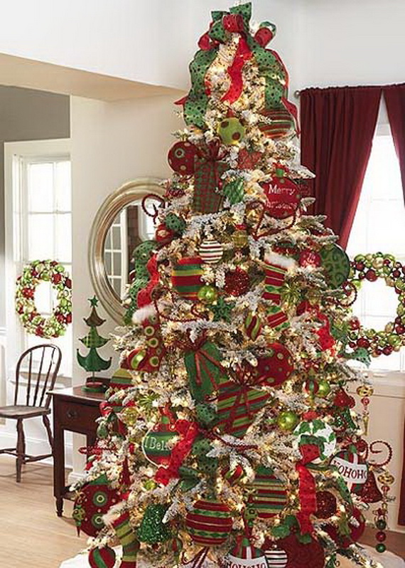 2014 RAZ Aspen Sweater Christmas Decorating Ideas_055
