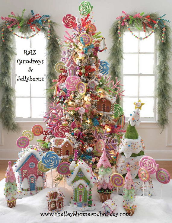 2014 RAZ Aspen Sweater Christmas Decorating Ideas_056