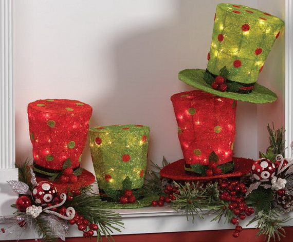2014 RAZ Aspen Sweater Christmas Decorating Ideas_063
