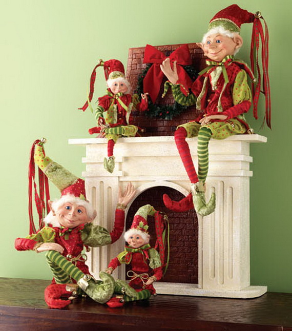 2014 RAZ Aspen Sweater Christmas Decorating Ideas_080